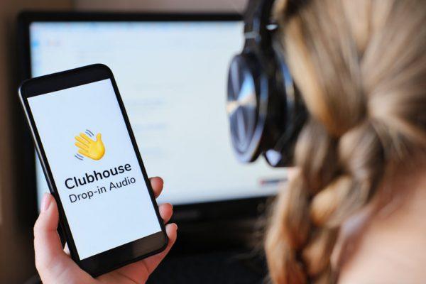 Bewerbungsgespräch mit der Clubhouse App